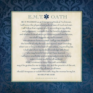 EMT Oath And Code Of Conduct